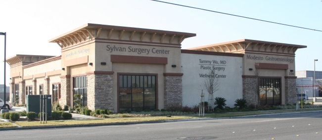 new to modesto plastic surgery building in village one, for plastic surgery next to the post office